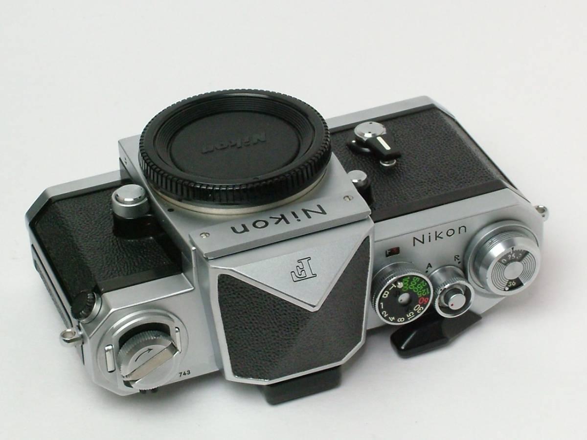 Nikon New F ボディ アイレベルファインダー 程度良品(美品中古) 743万番台_画像6