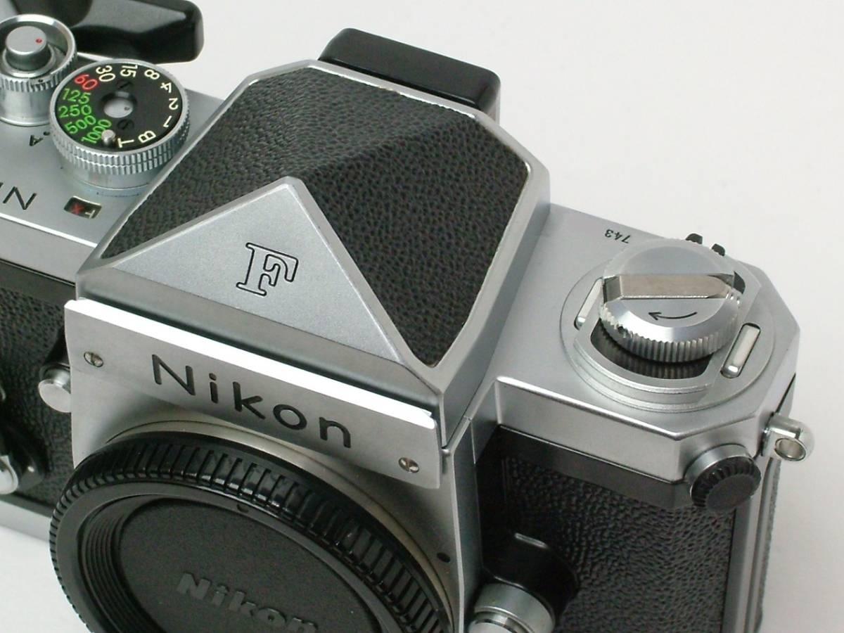 Nikon New F ボディ アイレベルファインダー 程度良品(美品中古) 743万番台_画像10