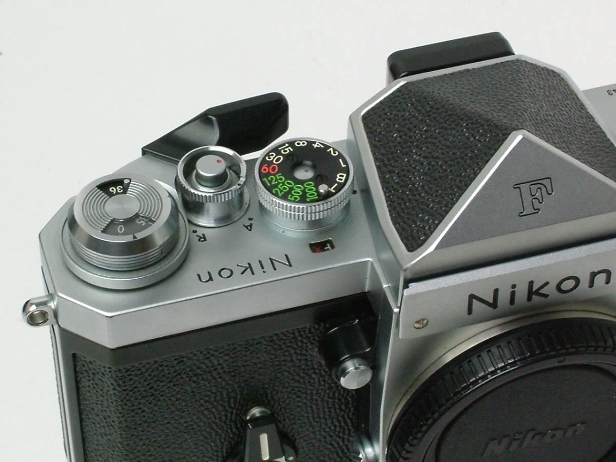 Nikon New F ボディ アイレベルファインダー 程度良品(美品中古) 743万番台_画像9