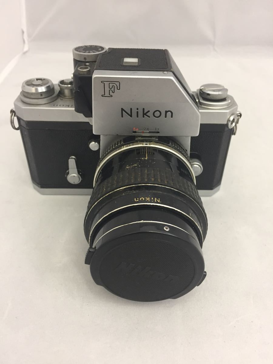 (CG) Nikon F フォトミックファインダー レンズ Micro-NIKKOR 55mm 1:3.5
