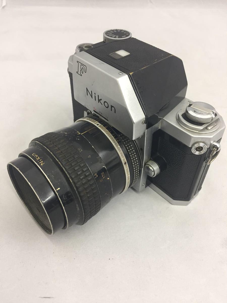 (CG) Nikon F フォトミックファインダー レンズ Micro-NIKKOR 55mm 1:3.5 _画像3