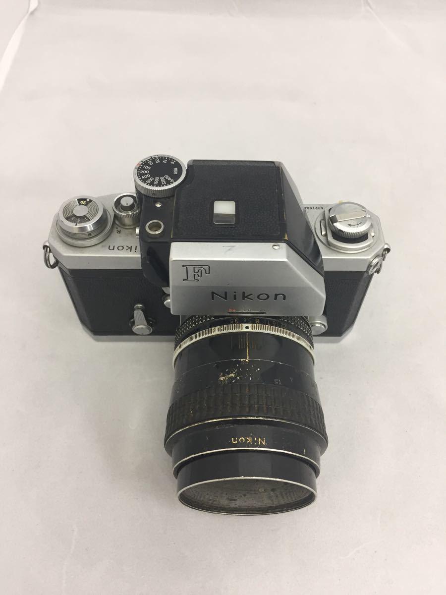 (CG) Nikon F フォトミックファインダー レンズ Micro-NIKKOR 55mm 1:3.5 _画像2