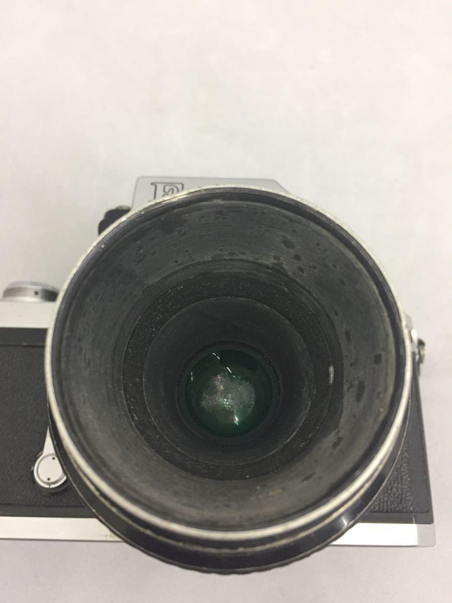 (CG) Nikon F フォトミックファインダー レンズ Micro-NIKKOR 55mm 1:3.5 _画像4