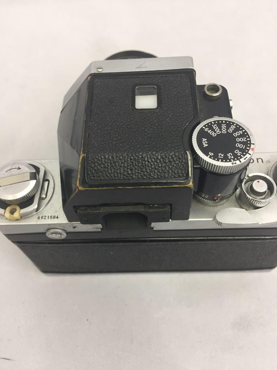 (CG) Nikon F フォトミックファインダー レンズ Micro-NIKKOR 55mm 1:3.5 _画像6