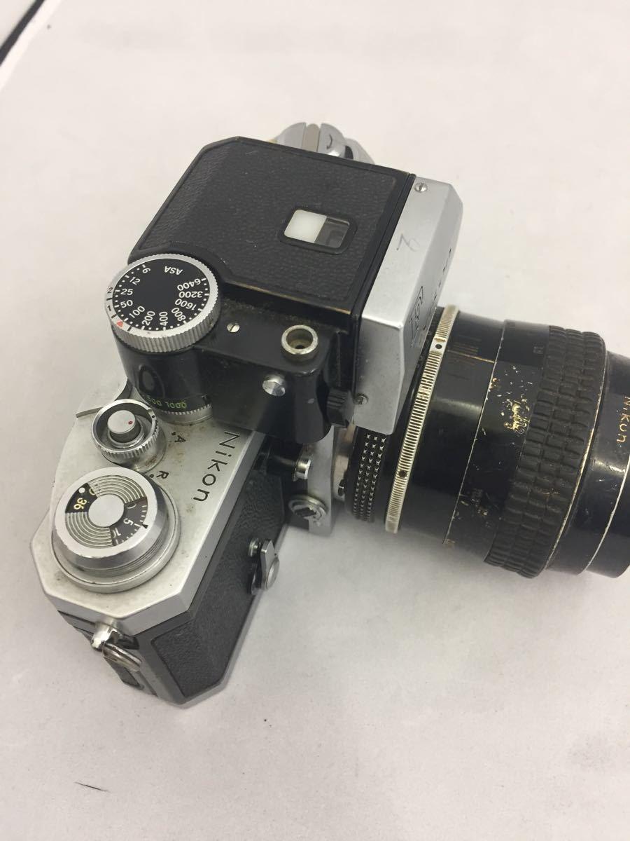 (CG) Nikon F フォトミックファインダー レンズ Micro-NIKKOR 55mm 1:3.5 _画像5