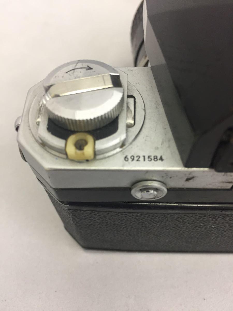(CG) Nikon F フォトミックファインダー レンズ Micro-NIKKOR 55mm 1:3.5 _画像7