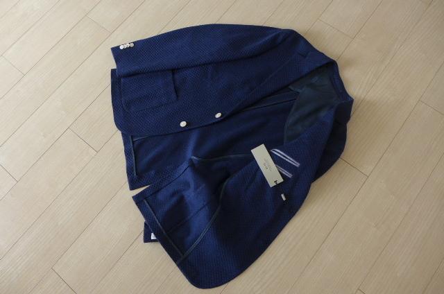 新品 即決 イタリア製 13万 コルネリアーニ CORNELIANI 50 CC COLLECTION テーラード ジャケット シングル 50_画像2