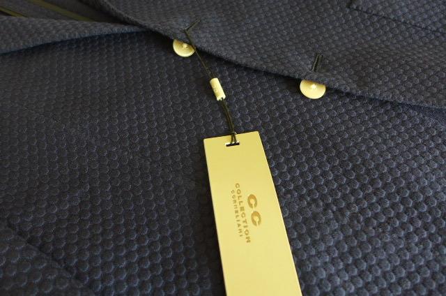 新品 即決 イタリア製 13万 コルネリアーニ CORNELIANI 50 CC COLLECTION テーラード ジャケット シングル 50_画像3