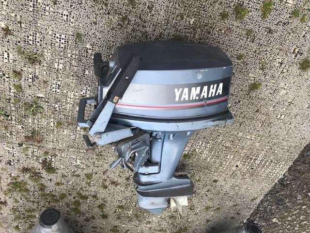 【格安売切り】最終値下げ 希少 YAMAHA ヤマハ 9.9D 小型船舶用 船外機 682-CS 9.9PS 現状品 北海道札幌発 発送できます_画像6