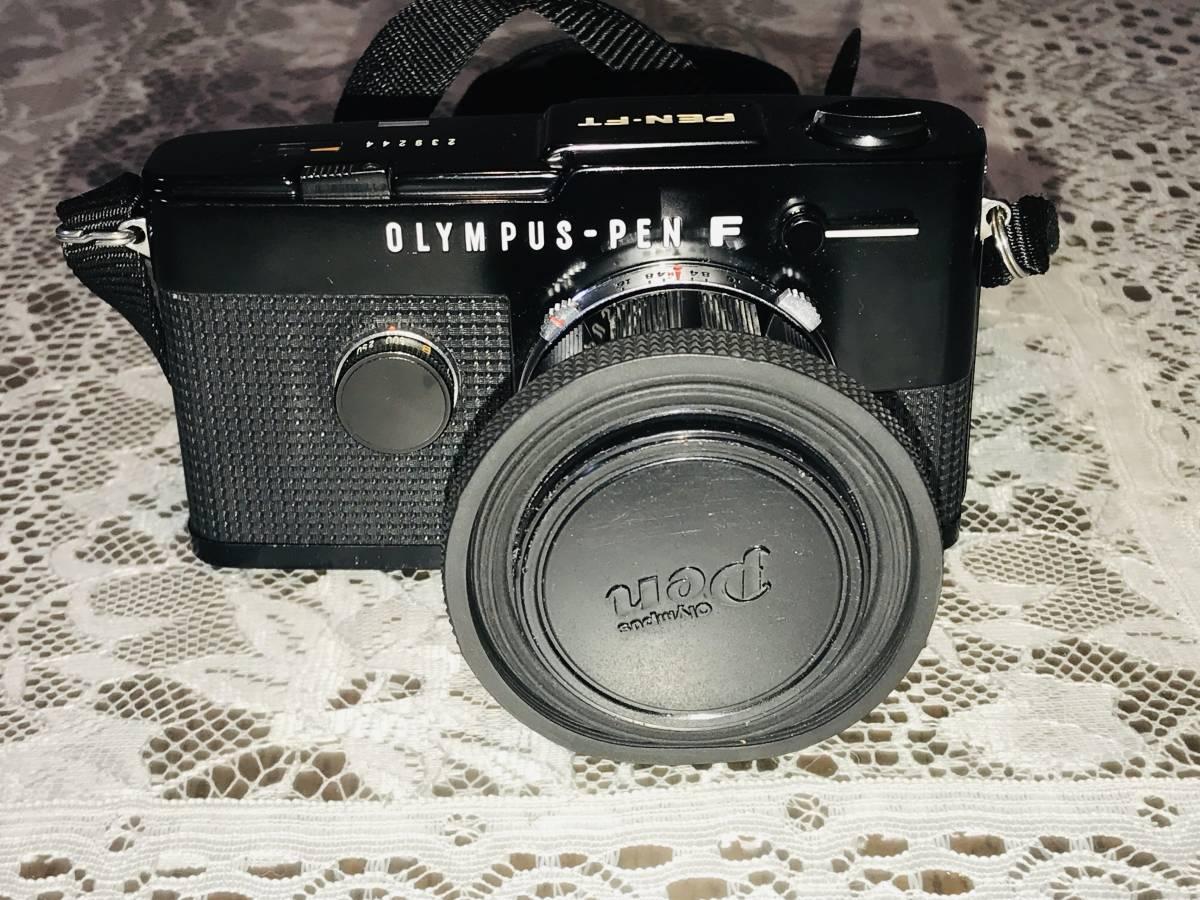 【希少・美品】OLYMPUS オリンパス PEN-FT ブラック G.Zuiko Auto-S 40mm f=1.4