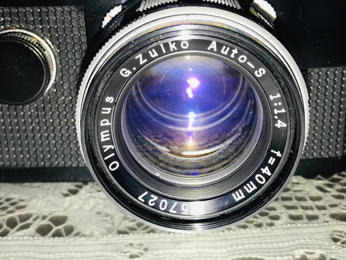 【希少・美品】OLYMPUS オリンパス PEN-FT ブラック G.Zuiko Auto-S 40mm f=1.4_画像3