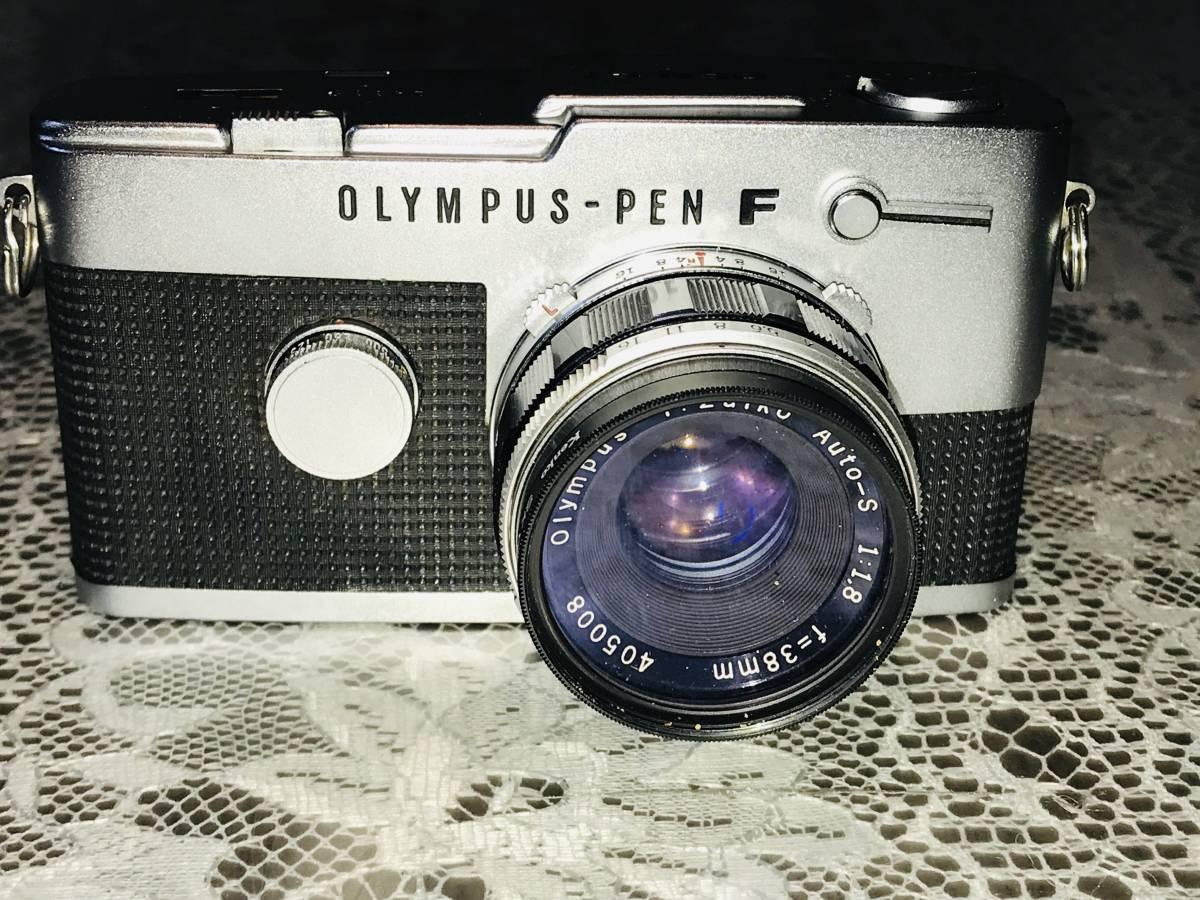 ★OLYMPUS オリンパス PEN-FT F.Zuiko Auto-S 1:1.8 f=38mm