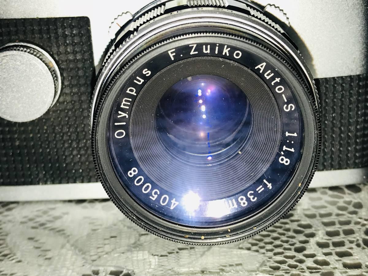 ★OLYMPUS オリンパス PEN-FT F.Zuiko Auto-S 1:1.8 f=38mm_画像2