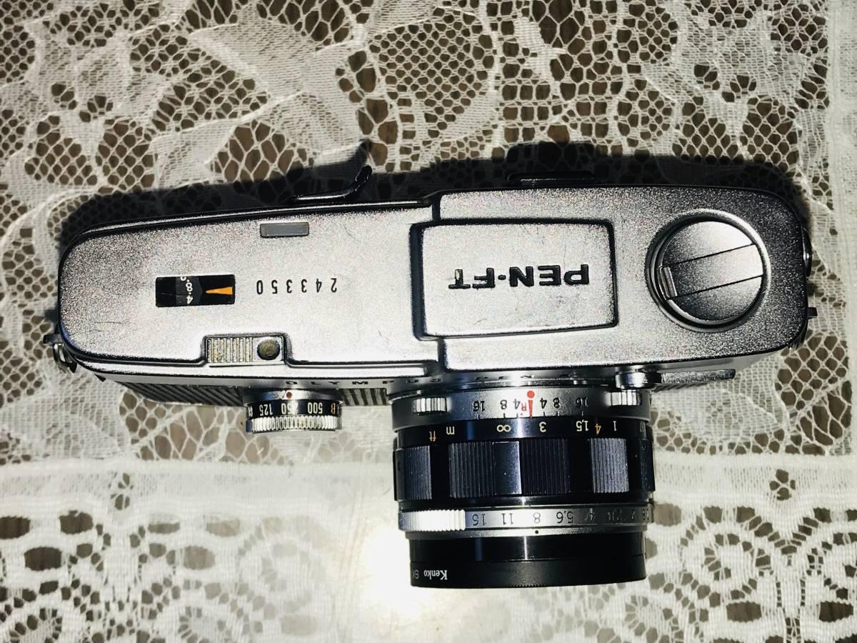 ★OLYMPUS オリンパス PEN-FT F.Zuiko Auto-S 1:1.8 f=38mm_画像3