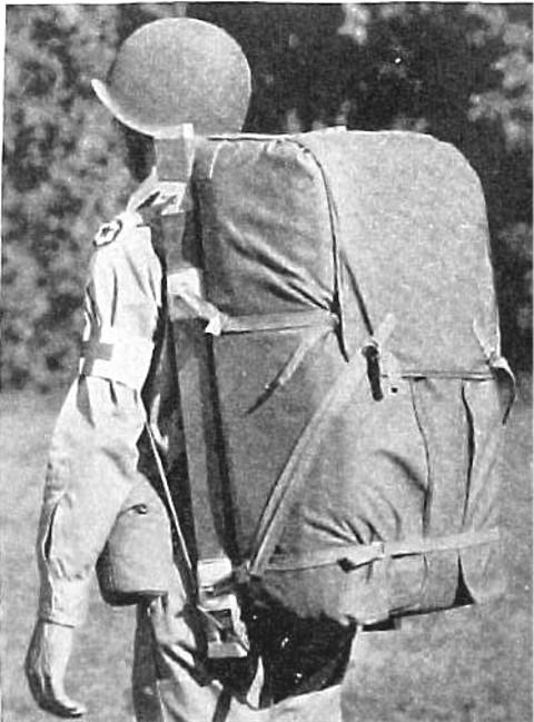 WW2 米軍 メディカルバックパック 衛生兵背嚢 _画像4
