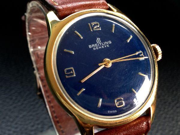 【ジャンク扱い】BREITLING ブライトリング ヴィンテージ手巻き 腕時計訳あり B100404