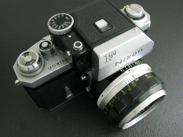 ニコンF 50mm付き 速写ケース入り ジャンク_画像2