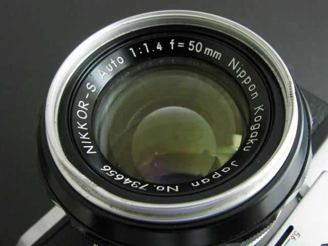 ニコンF 50mm付き 速写ケース入り ジャンク_画像3
