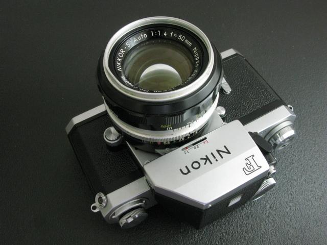 ニコンF 50mm付き 速写ケース入り ジャンク