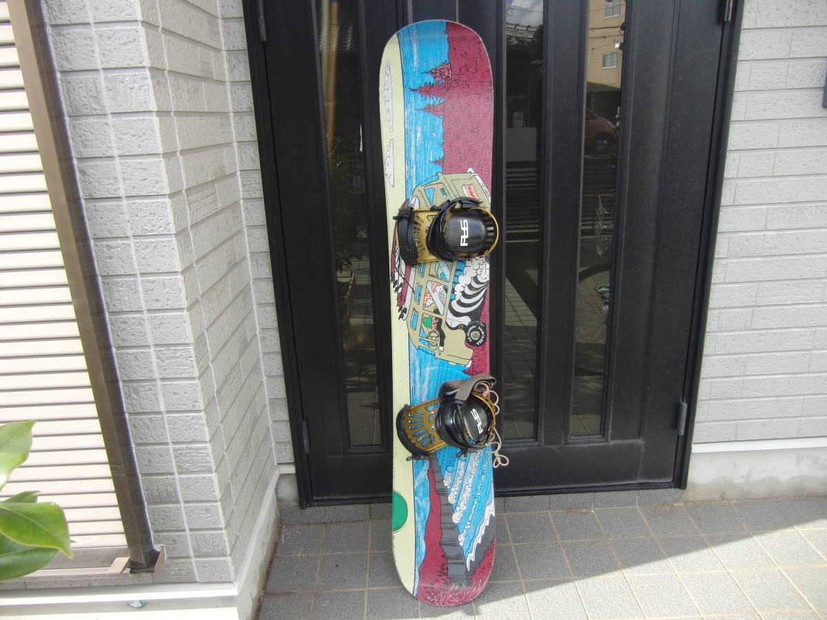 ★LIB TECH リブテック スノーボード 151cm ビンディング付き 中古