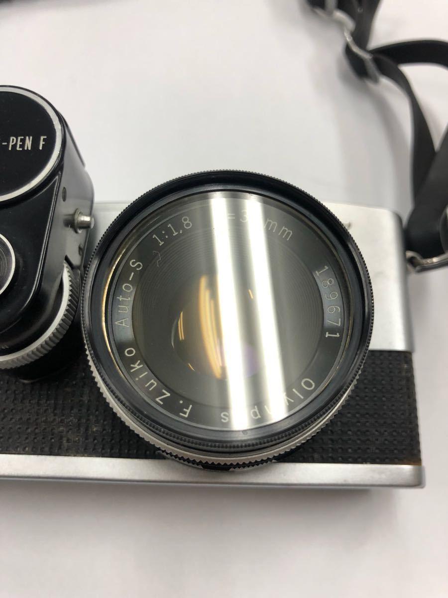 カメラ OLYMPUS オリンパス PEN F レンズ AUTO-S 1:1.8 f=38mm 他レンズ1点 No.220283_画像3