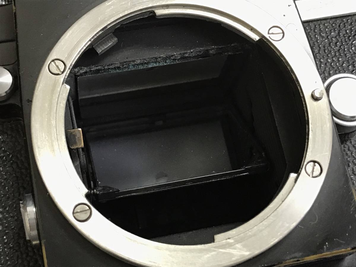 A24b06D NIKON F 50mm 1:2 ニコン フィルムカメラ ボディ レンズ_画像9