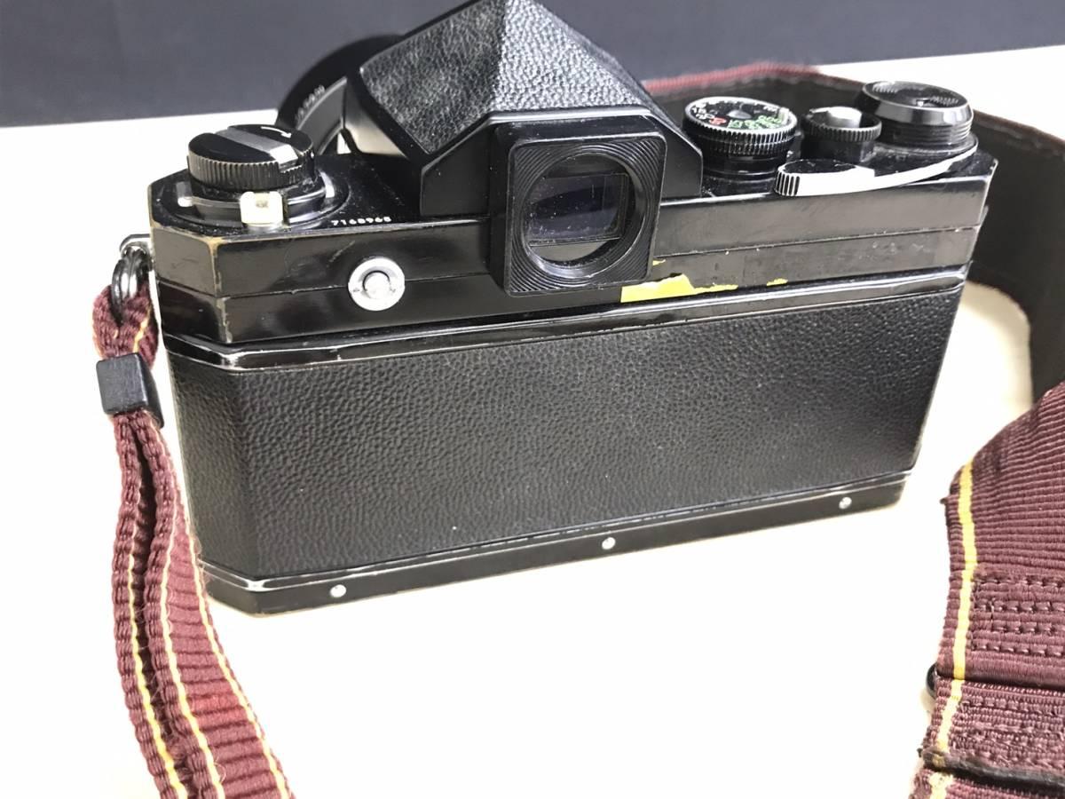 A24b06D NIKON F 50mm 1:2 ニコン フィルムカメラ ボディ レンズ_画像8