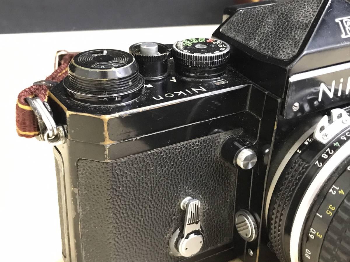 A24b06D NIKON F 50mm 1:2 ニコン フィルムカメラ ボディ レンズ_画像4