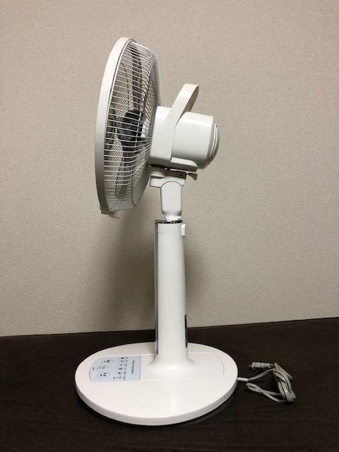 日立 扇風機 リビング扇 HEF-80R リモコンなし_画像2