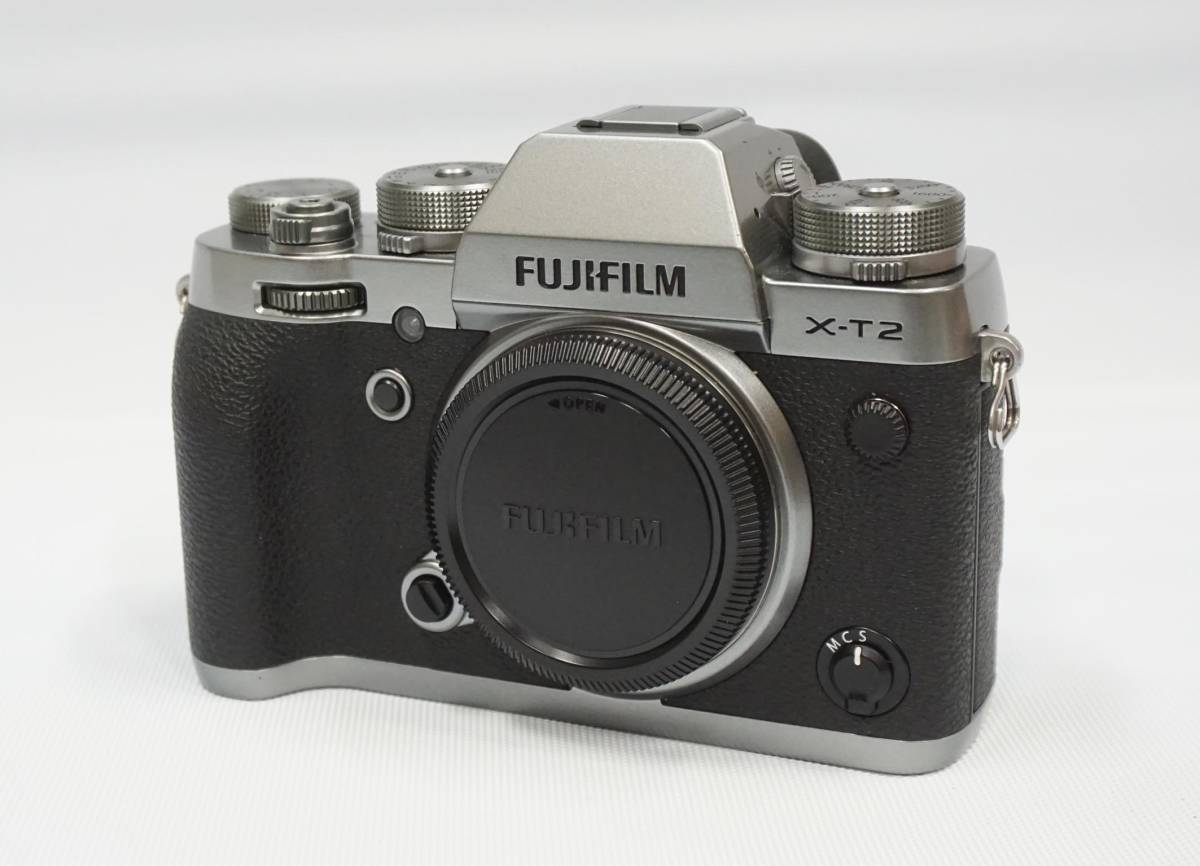 FUJIFILM X-T2 Graphite Silver Edition 中古美品