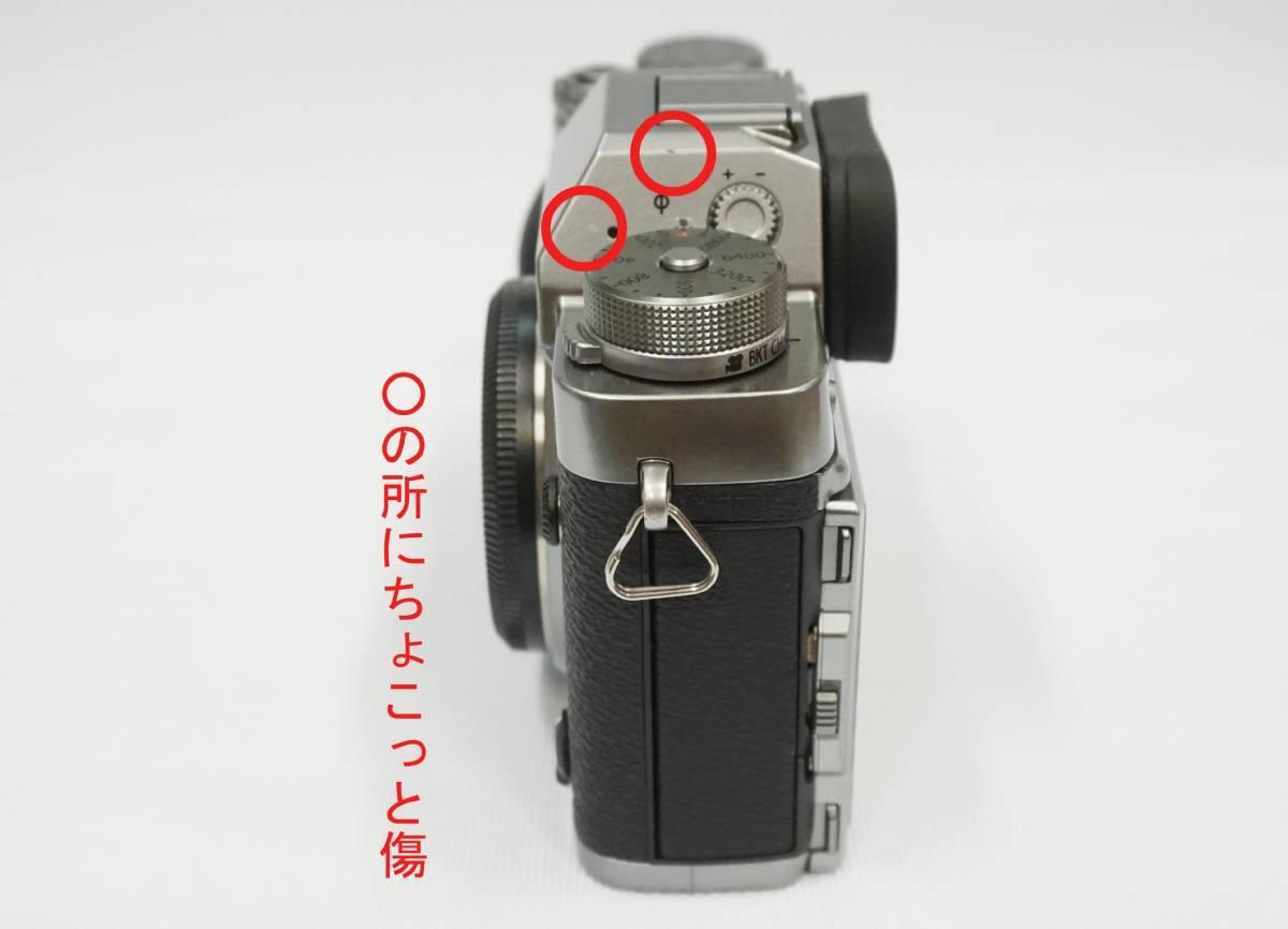 FUJIFILM X-T2 Graphite Silver Edition 中古美品_画像5