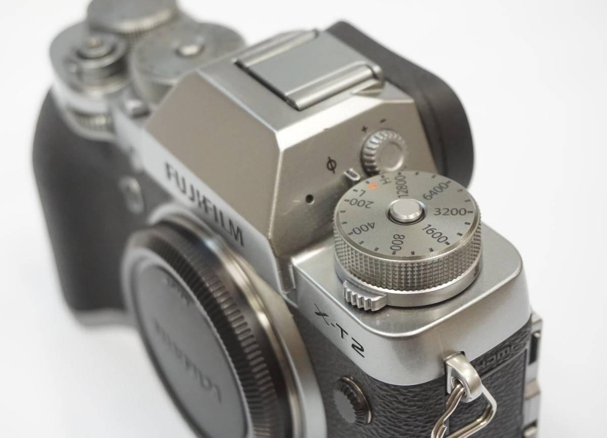FUJIFILM X-T2 Graphite Silver Edition 中古美品_画像8