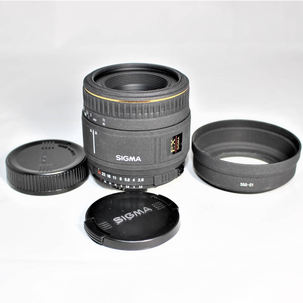 シグマ AF 50mm F2.8 D EX MACRO ニコン用