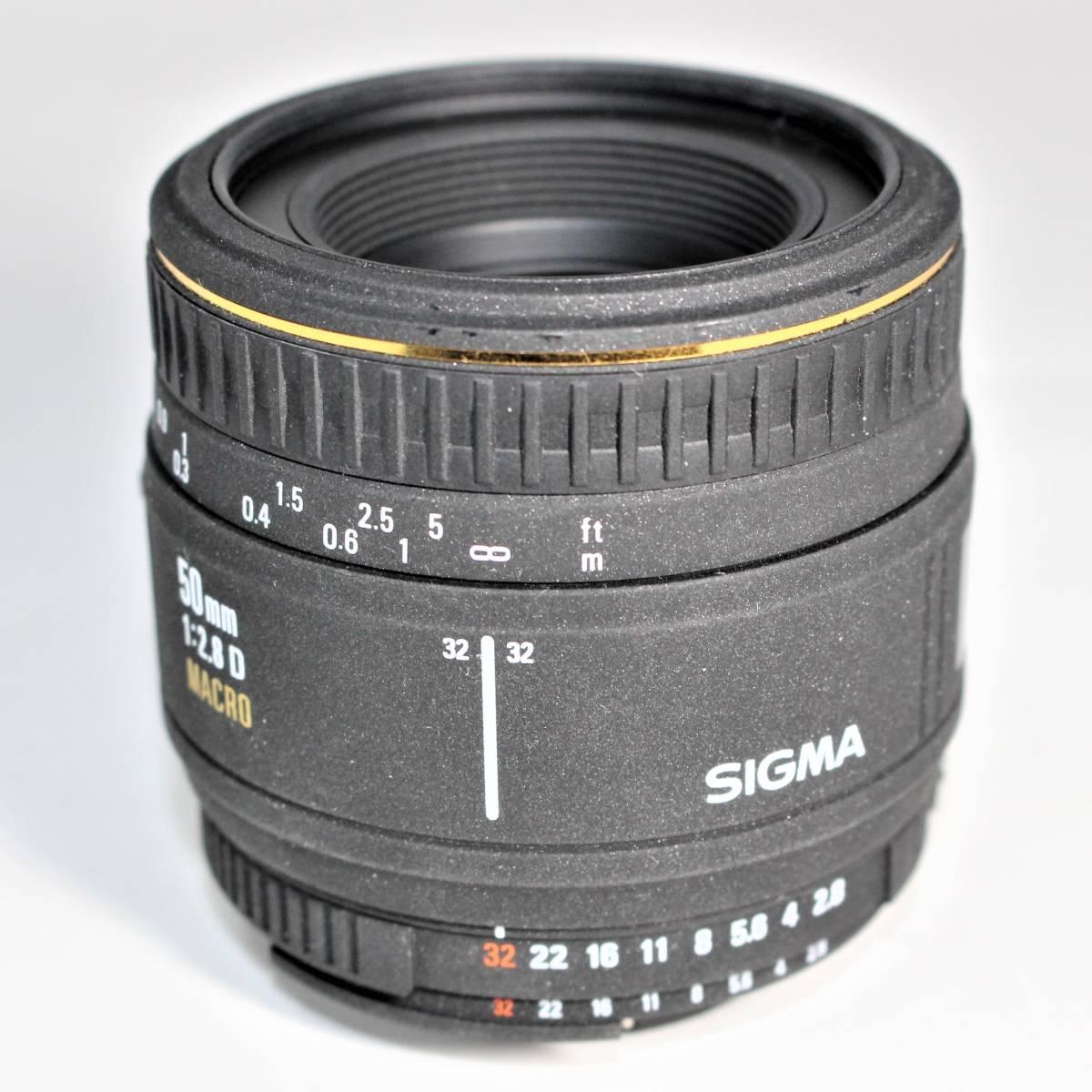 シグマ AF 50mm F2.8 D EX MACRO ニコン用_画像3