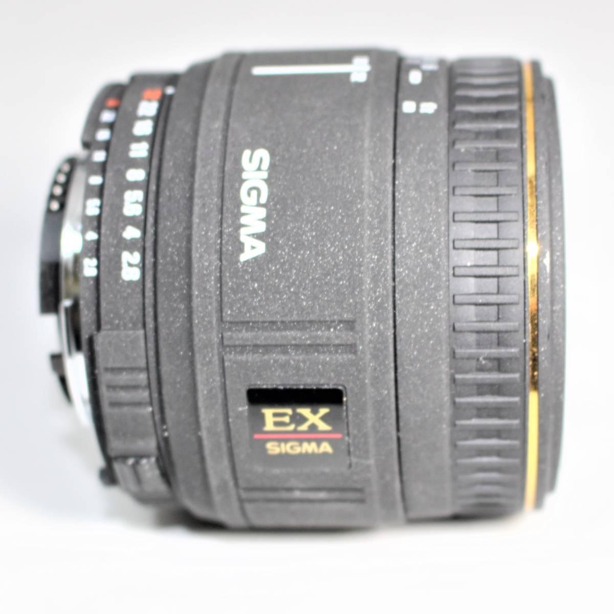 シグマ AF 50mm F2.8 D EX MACRO ニコン用_画像6