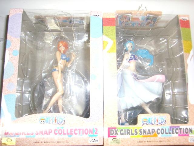 ONE PIECE海賊王圖片DX女孩Snap系列Nami Swimsuit Bibi 2件套 編號:g301242607