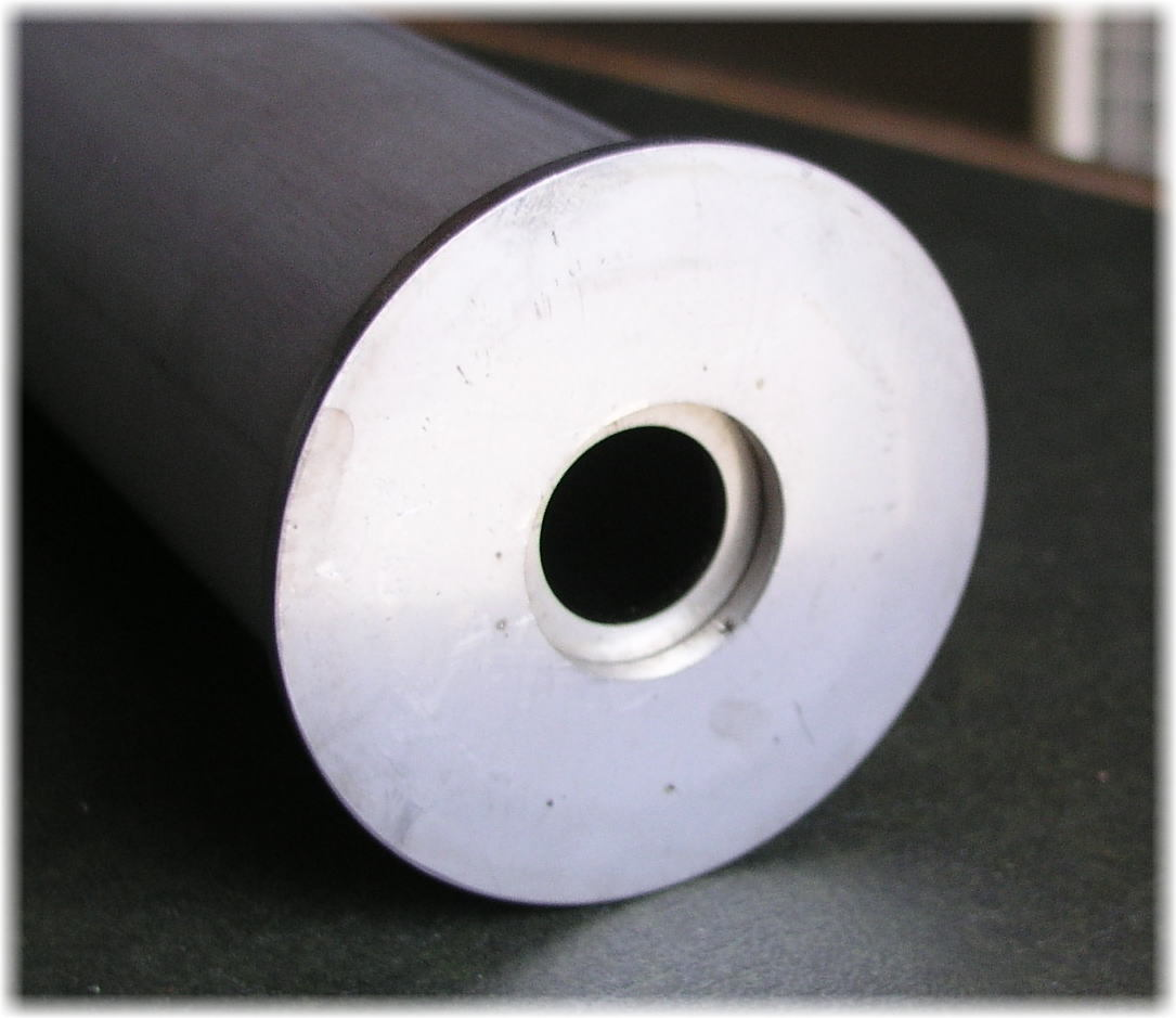 「広幅のステンレスローラー ローラー径60.5Φ ローラー厚3mm アンカーデビット ドラム巻取ウインチ用 」の画像2