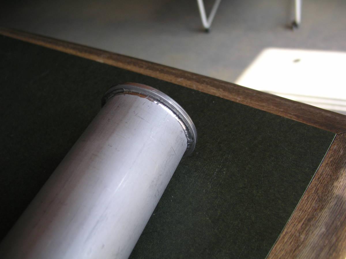 「広幅のステンレスローラー ローラー径60.5Φ ローラー厚3mm アンカーデビット ドラム巻取ウインチ用 」の画像3
