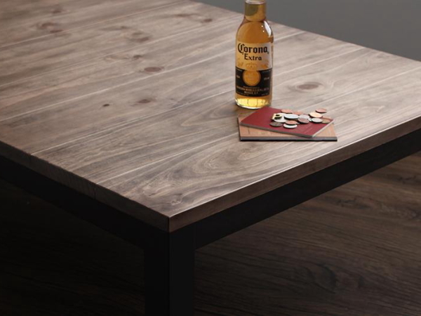 120×80cm 天然木 ビンテージデザイン こたつ 継ぎ脚付き 西海岸 ブルックリン コタツ センターテーブル ソファテーブル おしゃれ_画像4