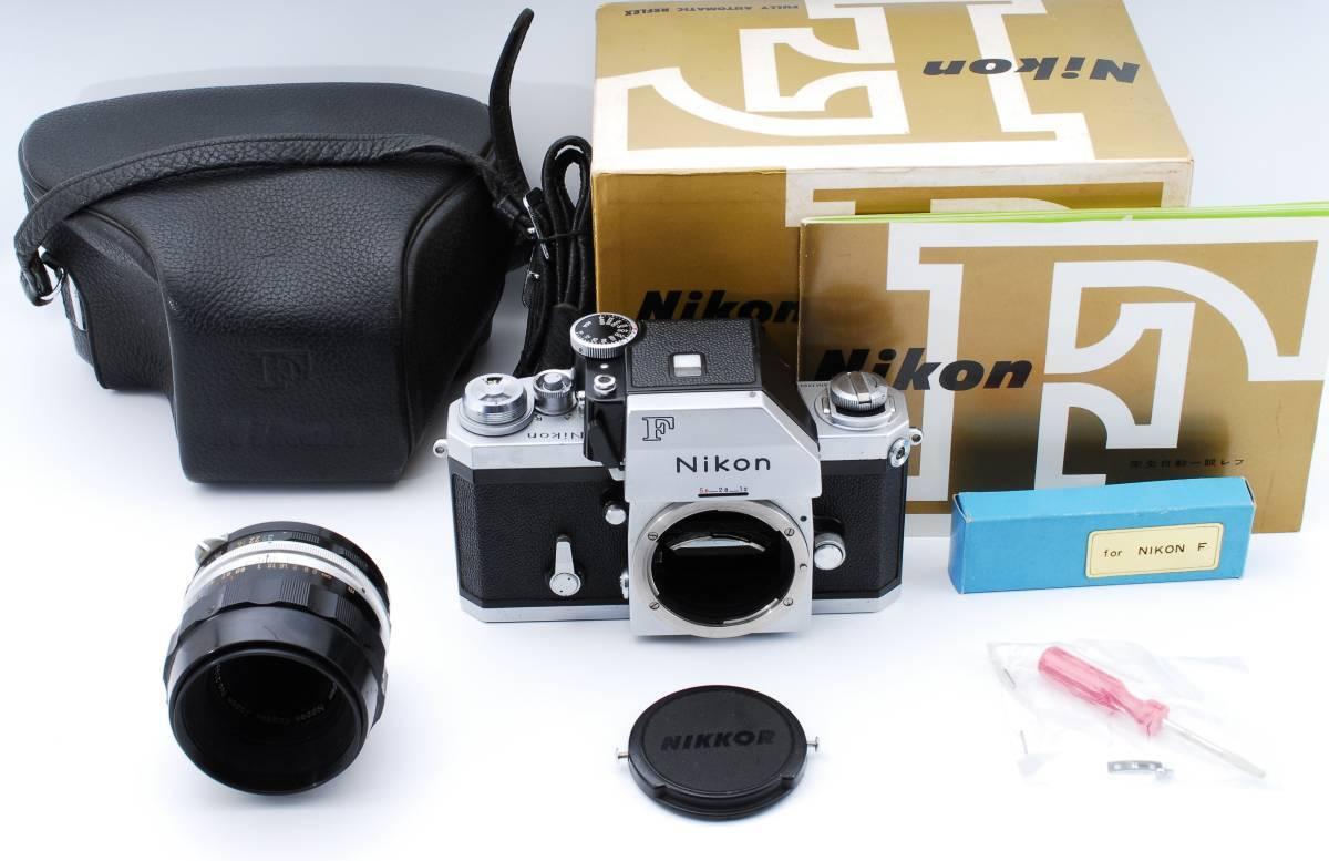 ★極上★NIKON F ニコンF フォトミック Micro NIKKOR Auto 55mm F3.5 元箱、付属品充実★370