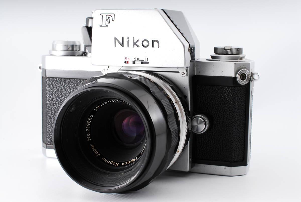 ★極上★NIKON F ニコンF フォトミック Micro NIKKOR Auto 55mm F3.5 元箱、付属品充実★370_画像2