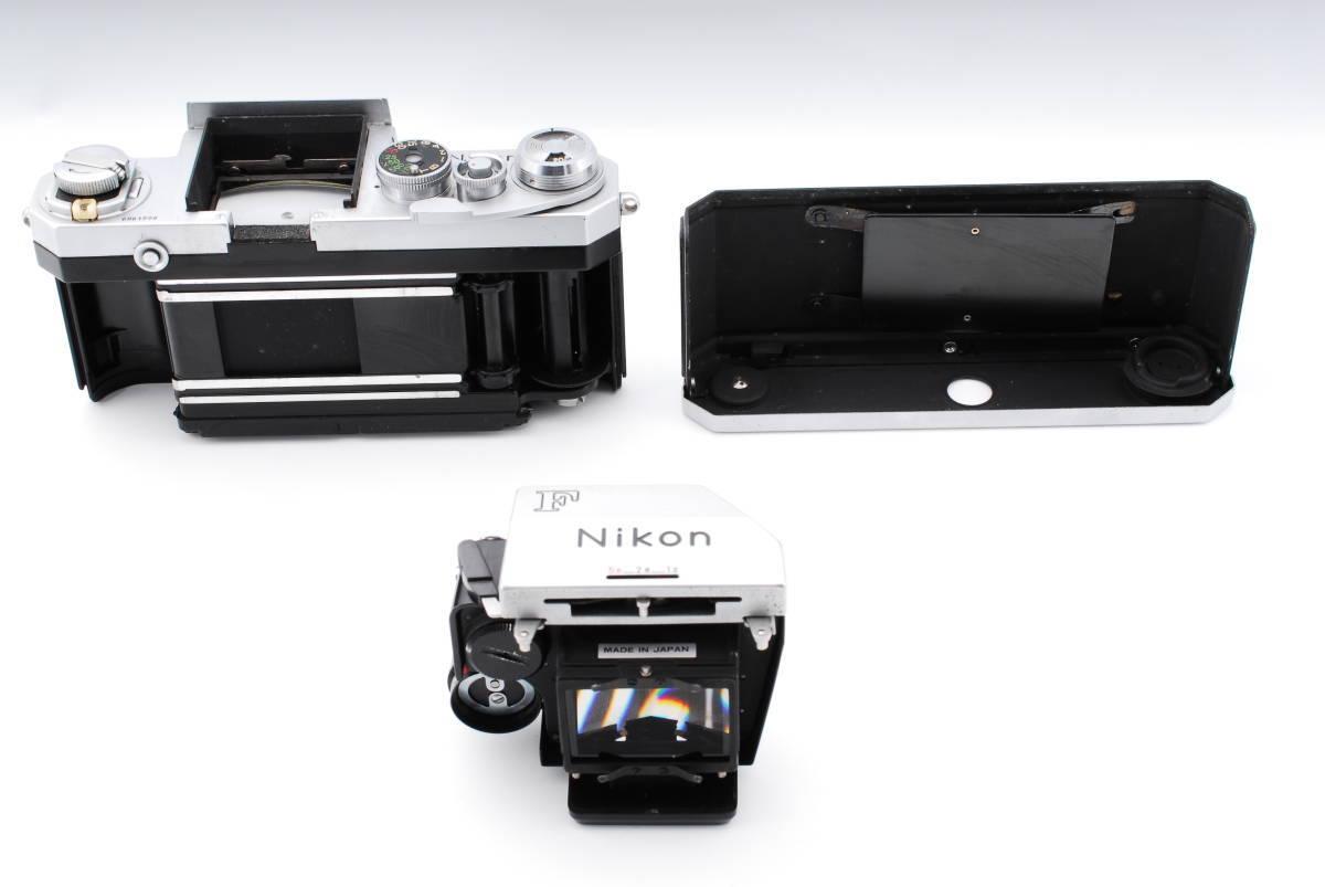 ★極上★NIKON F ニコンF フォトミック Micro NIKKOR Auto 55mm F3.5 元箱、付属品充実★370_画像9