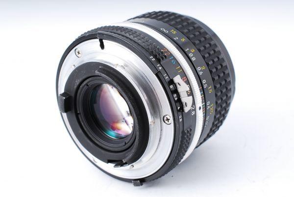 ★極上美品★Nikon ニコン F アイレベル Ai-s NIKKOR 35mm F2.8 単焦点レンズセット★395_画像9