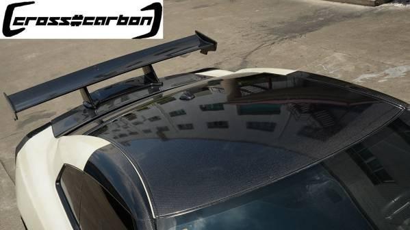 ●日産R35 GTR用カーボンルーフパネル/一枚張り/CFRP/35R/GT-R/ニッサン/本物カーボン/人気/クロスカーボン/NISSAN/ルーフガーニッシ_画像1