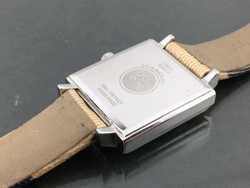 1円~★レディース高級腕時計 SWISS MADE バーバリー BURBERRY 動作品_画像7