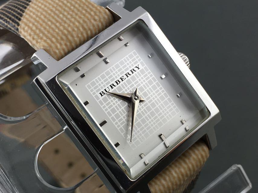 1円~★レディース高級腕時計 SWISS MADE バーバリー BURBERRY 動作品