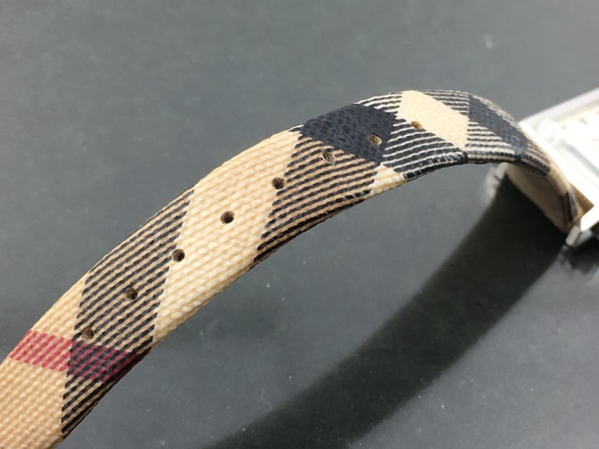 1円~★レディース高級腕時計 SWISS MADE バーバリー BURBERRY 動作品_画像4