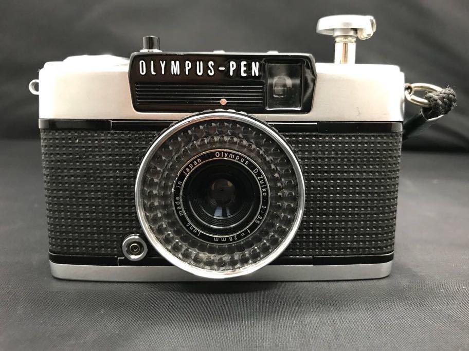 ★1円★OLYMPUSPEN EE-3★カメラ 中古 フィルムカメラ ケース付き 動作未確認 オリンパス1スタ