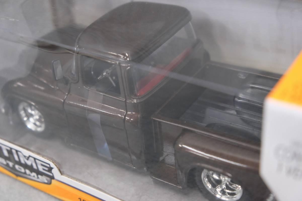 JADA 1/24 1955y CHEVY STEPSIDE ジャダ 1/24 1955y シェビー ステップサイド ブラウン 90160_画像8