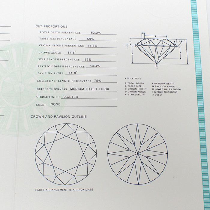 【TIFFANY(ティファニー)】ソリティアダイヤモンドリング 0.35ct Pt950 4.2g サイズ変更無料 【鑑別書・ワランティ・ケース付き】EE0_画像9
